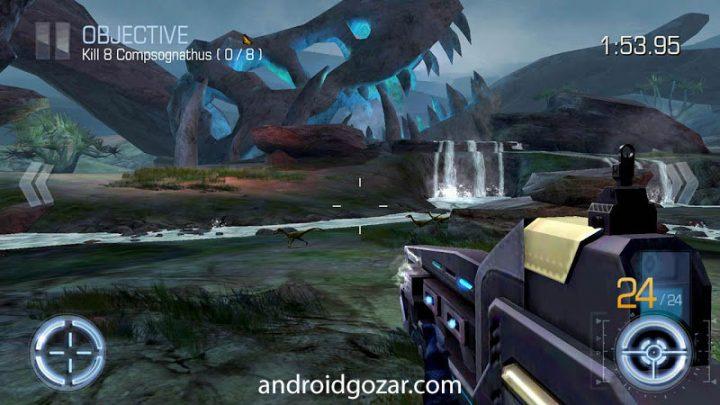 DINO HUNTER: DEADLY SHORES 3.5.9 دانلود بازی شکارچی دایناسور اندروید + مود