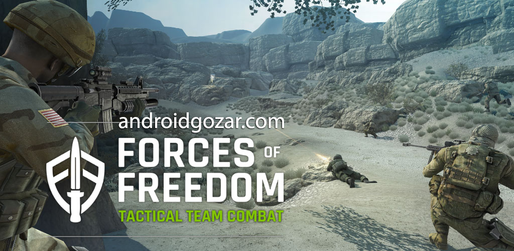Forces of Freedom 4.7.0 دانلود بازی اکشن نیروهای آزادی اندروید + مود