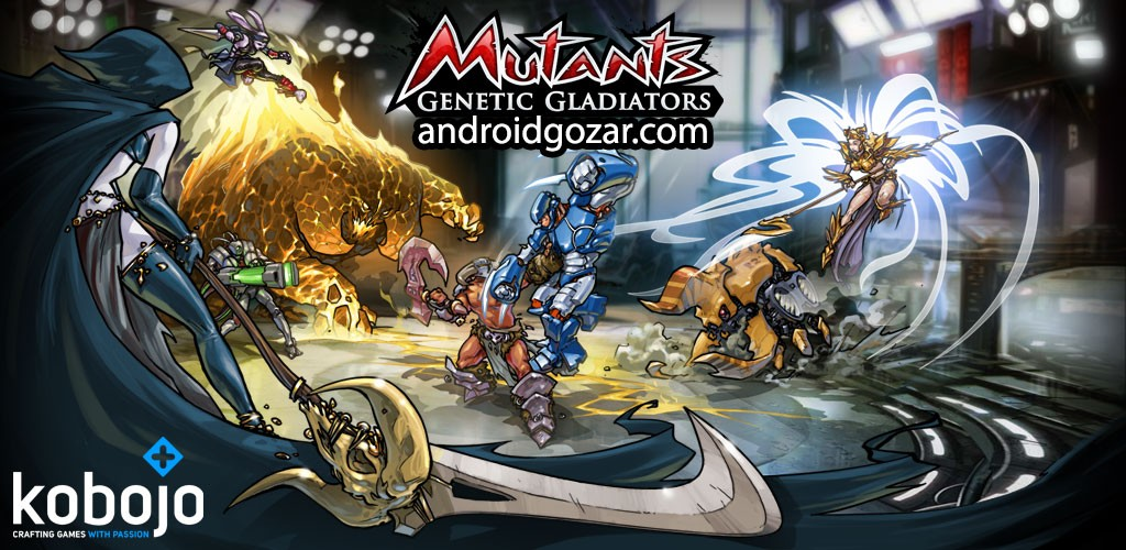 Mutants Genetic Gladiators 64.345.162251 دانلود بازی گلادیاتورها اندروید