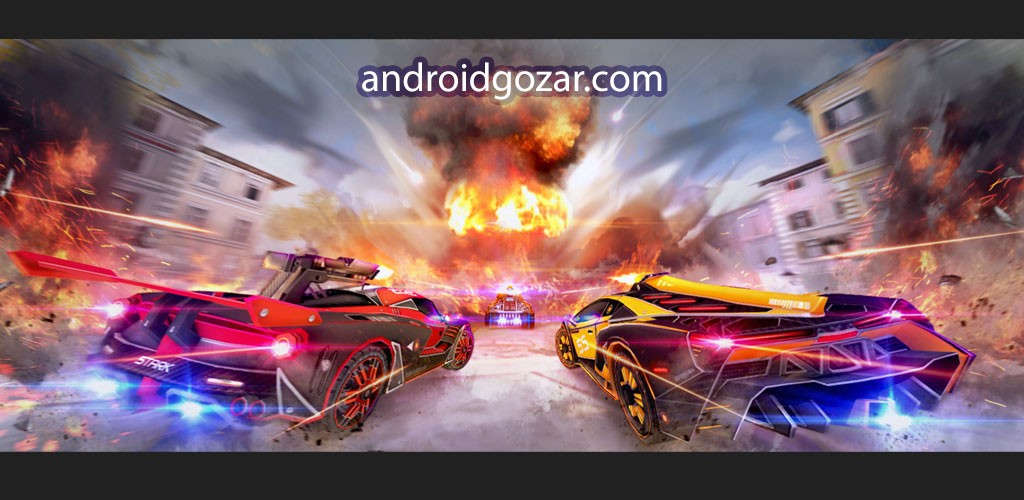 Cars Battle Royal: Overload 1.9.7 دانلود بازی تیراندازی ماشین ها + مود