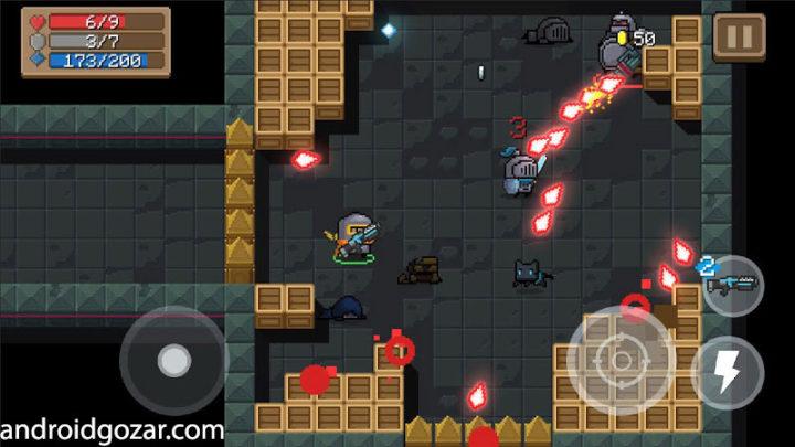 Soul Knight 2.0.1 دانلود بازی اکشن شوالیه روح اندروید + مود