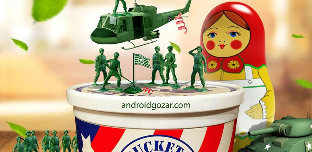 Army Men Strike 3.7.3 دانلود بازی حمله ارتش اسباب بازی اندروید