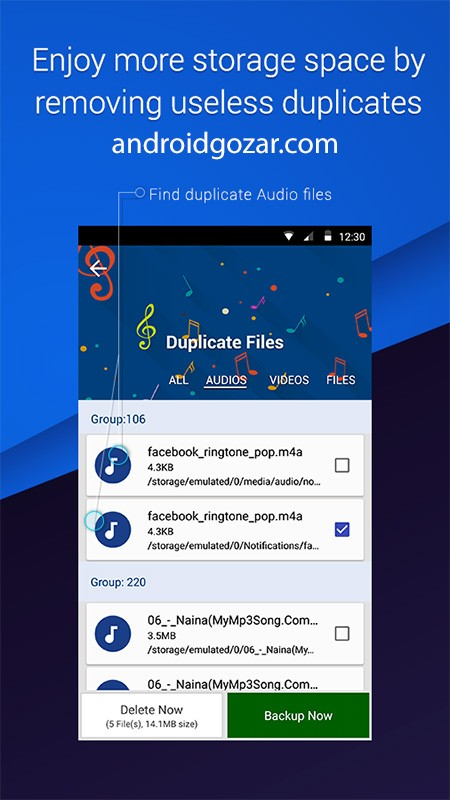 Duplicate Files Fixer 4.2.4.15 جستجو و پاک کردن فایل های تکراری اندروید