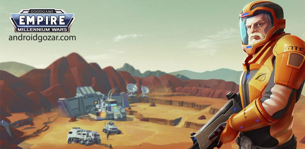 Empire: Millennium Wars 1.25.1 دانلود بازی امپراطوری جنگ های هزاره اندروید