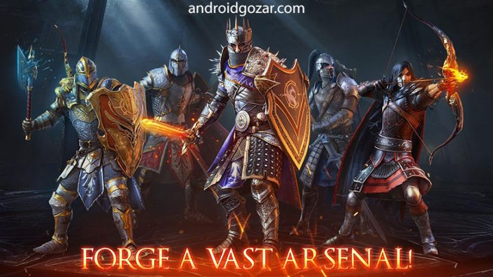 Iron Blade – Medieval Legends 1.9.0r دانلود بازی شمشیر آهنین اندروید + دیتا