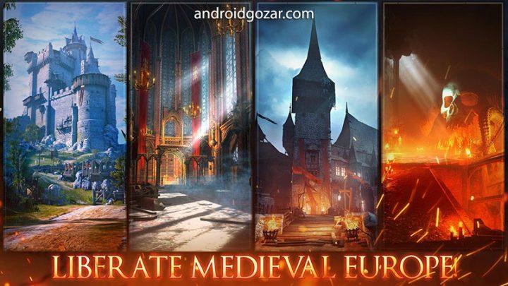 Iron Blade – Medieval Legends 1.7.1a دانلود بازی شمشیر آهنین اندروید + دیتا