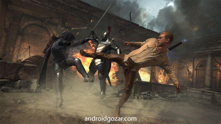 King Arthur 1.3 دانلود بازی اکشن و مبارزه ای شاه آرتور اندروید + مود + دیتا