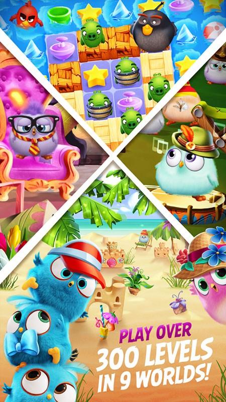دانلود Angry Birds Match 3 5.0.0 – بازی پازل پرندگان خشمگین اندروید + مود