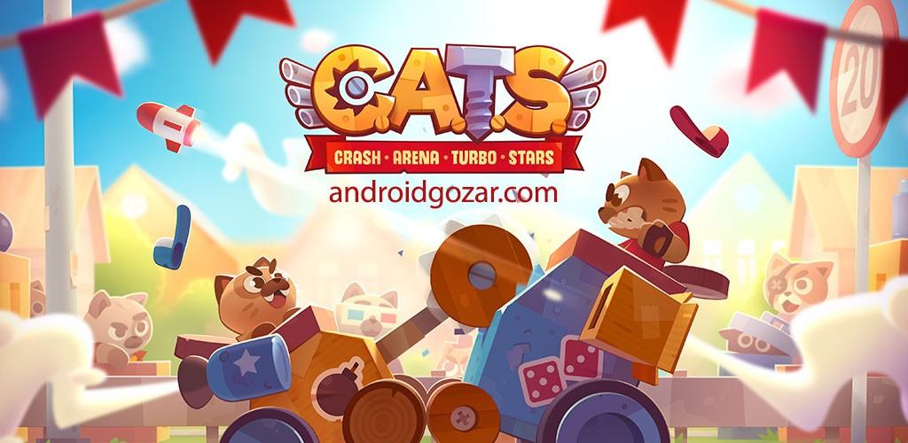 دانلود CATS: Crash Arena Turbo Stars 2.32 بازی ربات جنگی اندروید