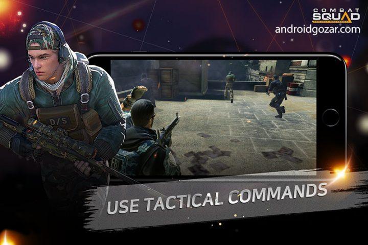 Combat Squad 0.11.22 دانلود بازی اکشن گروه مبارزه اندروید + مود + دیتا