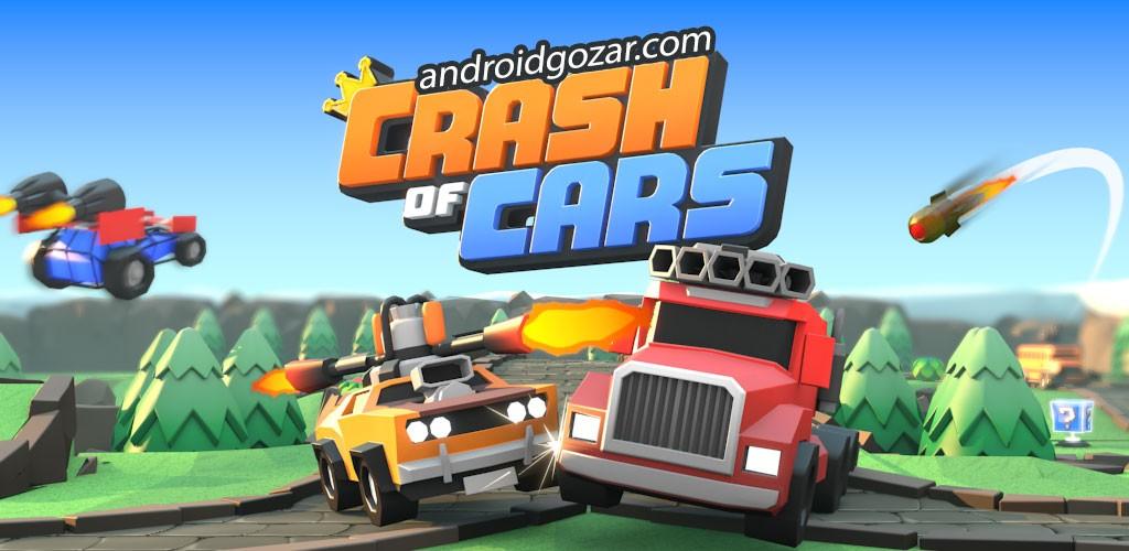 دانلود Crash of Cars 1.3.50 – بازی نبرد ماشین ها اندروید + مود