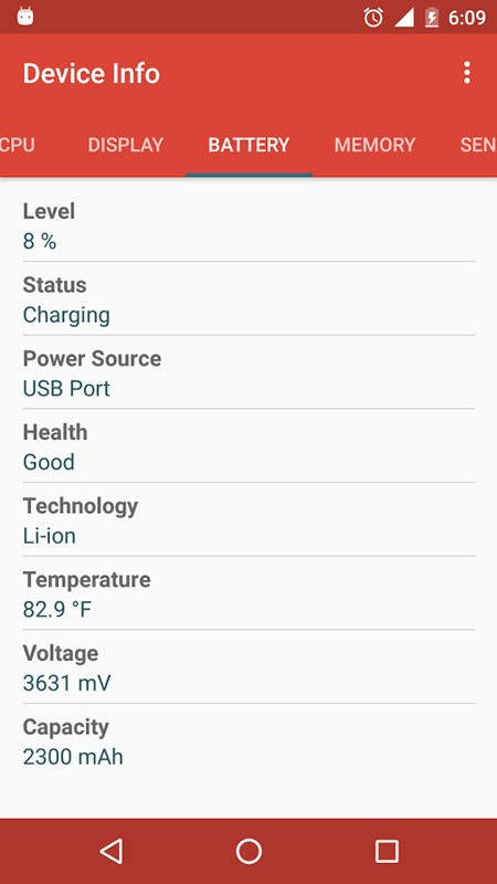 Device Info Pro 1.2.8 نمایش اطلاعات کامل موبایل و تبلت اندروید