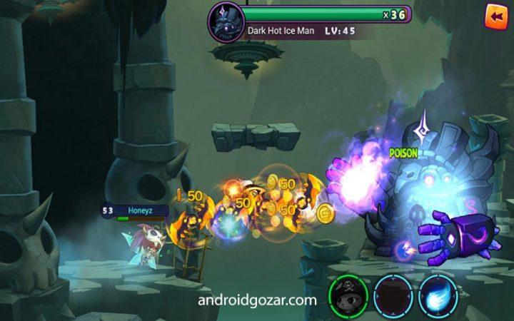 Genki Heroes 1.0.5 دانلود بازی اکشن قهرمانان گنکی اندروید