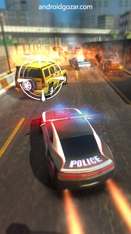 دانلود Highway Getaway 1.2.3 بازی ماشین سواری تعقیب بزرگراه اندروید + مود