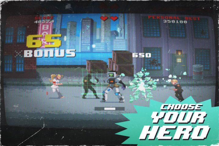 Kung Fury: Street Rage 1.26 دانلود بازی اکشن شورش در شهر اندروید + مود
