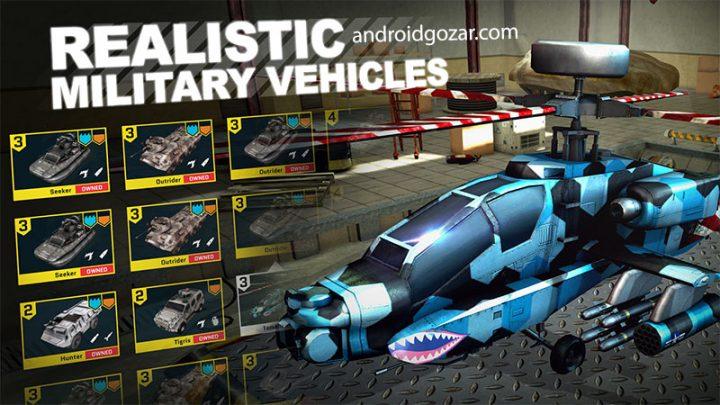 Massive Warfare 1.173.43 دانلود بازی اکشن جنگ عظیم اندروید