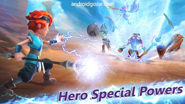 Might & Magic: Elemental Guardians 2.20 دانلود بازی نقش آفرینی قدرت و جادو اندروید + مود + دیتا