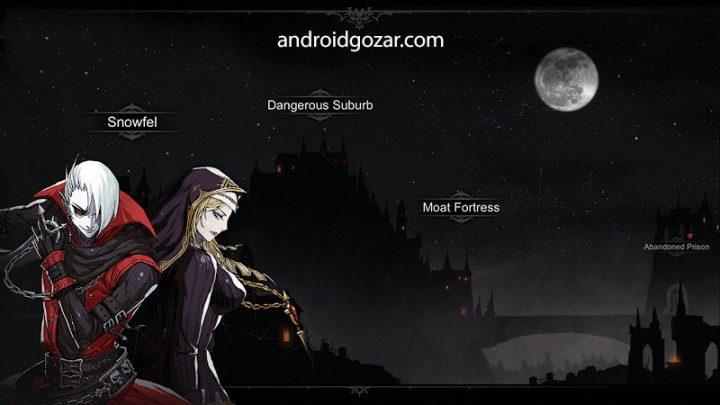 Never Gone 1.0.9 دانلود بازی اکشن نقش آفرینی 2D اندروید + مود + دیتا