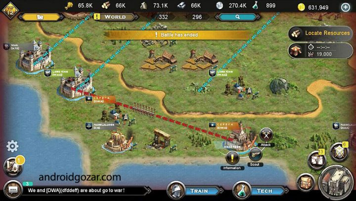 Vikings – Age of Warlords 1.106.1 دانلود بازی وایکینگ ها عصر جنگ اندروید