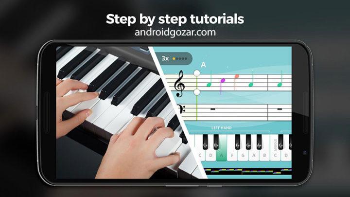 دانلود Yousician Premium 4.16.0 برنامه یادگیری گیتار، پیانو و باس اندروید