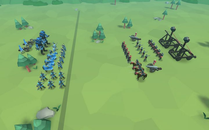 دانلود Epic Battle Simulator 2 1.4.60 بازی شبیه سازی جنگ 2 اندروید + مود