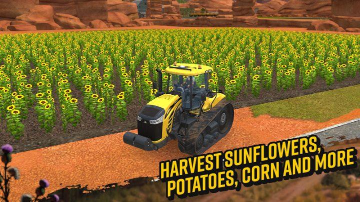 Farming Simulator 18 1.4.0.6 دانلود بازی شبیه ساز کشاورزی 2018 اندروید + مود