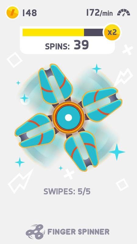 Fidget Spinner 1.3 دانلود بهترین بازی فیجت اسپینر اندروید + مود