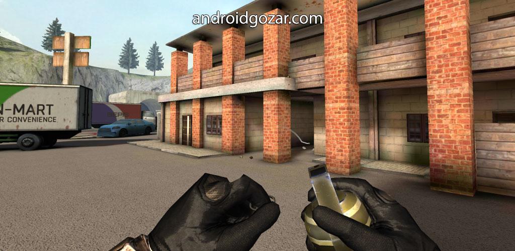 Forward Assault 1.1036 دانلود بازی اکشن حمله به جلو اندروید + مود