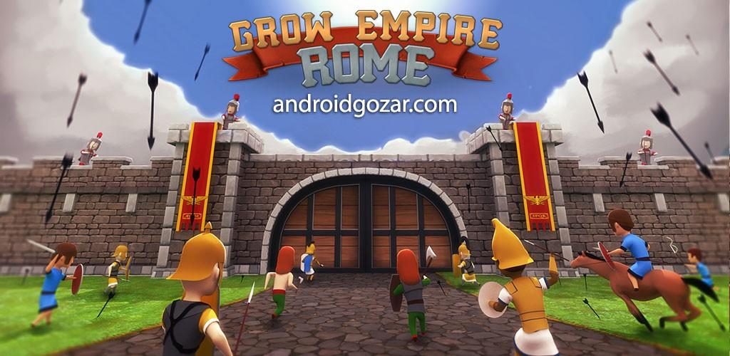 دانلود Grow Empire: Rome 1.4.61 بازی توسعه امپراطوری روم اندروید + مود
