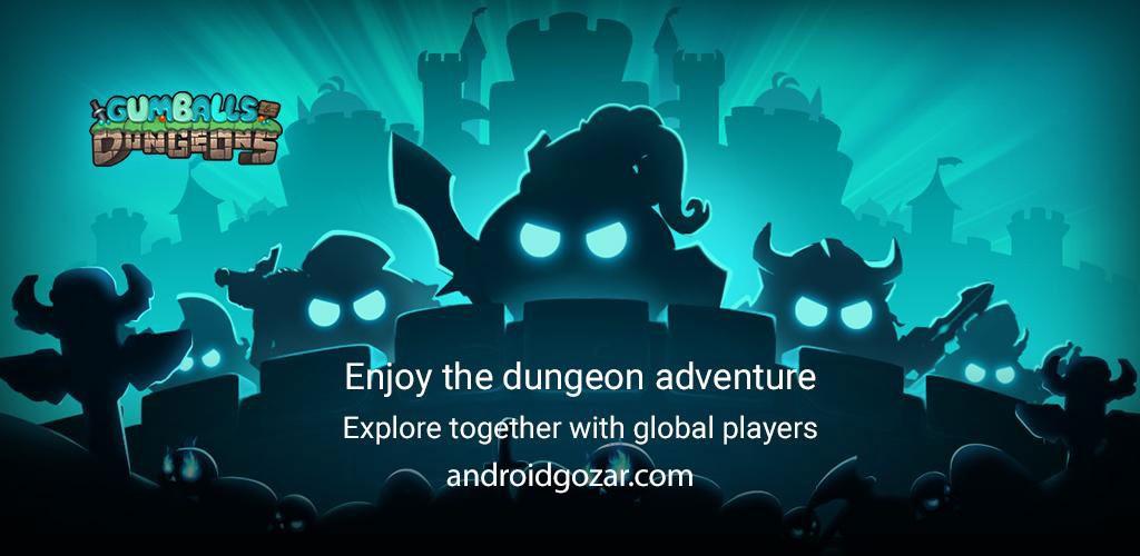 دانلود Gumballs & Dungeons 0.49.191128.03-3.8.1 – بازی سیاه چال اندروید