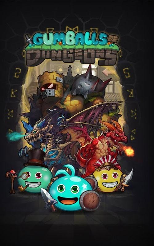 دانلود Gumballs & Dungeons 0.49.200626.03-4.6.2 – بازی سیاه چال اندروید