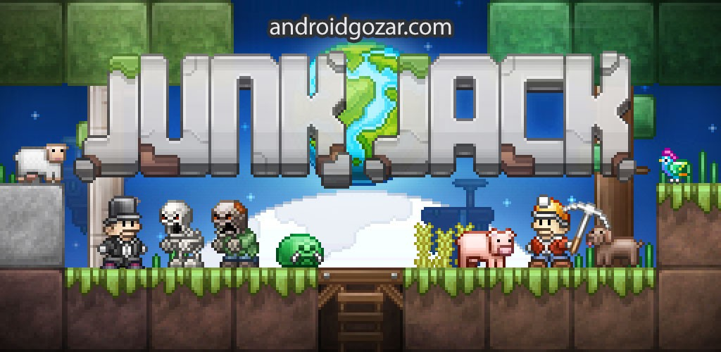 Junk Jack 3.2.0 دانلود بازی فوق العاده جک ماجراجو اندروید