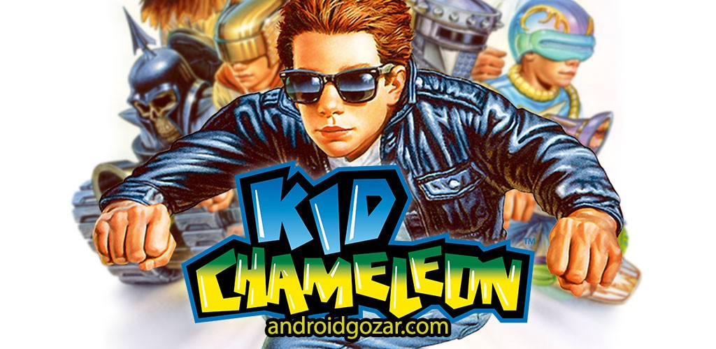 Kid Chameleon Classic 2.0.0 دانلود بازی اکشن بچه سوسمار کوچک اندروید + مود