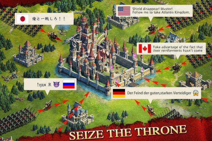 Kingdoms Mobile 1.1.167 دانلود بازی استراتژیک پادشاهان موبایل اندروید