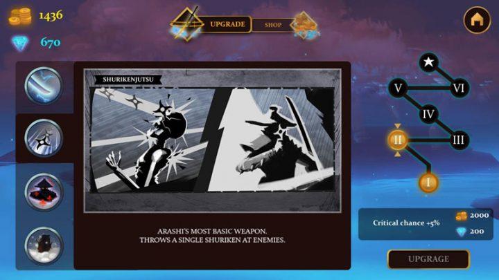 Ninja Arashi 1.2 دانلود بازی اکشن نینجای طوفانی اندروید + مود