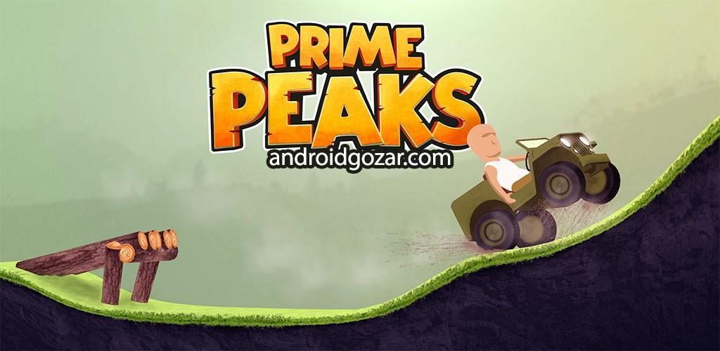 دانلود Prime Peaks 24.6 بازی مسابقه تپه نوردی اندروید + مود