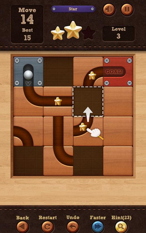Roll the Ball – slide puzzle 1.7.40 دانلود بازی فکری اعتیادآور چرخش توپ اندروید + مود