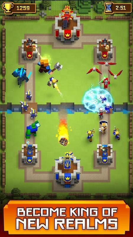 Royale Clans – Clash of Wars 4.68 دانلود بازی استراتژی رویال کلنز اندروید + مود