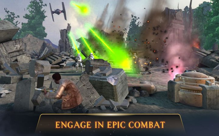 Star Wars: Rivals 6.0.2 دانلود بازی اکشن جنگ ستارگان رقبا اندروید + مود