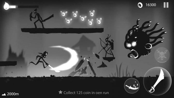 Stickman Run: Shadow Adventure 1.2.10 دانلود بازی اکشن دویدن استیکمن اندروید + مود