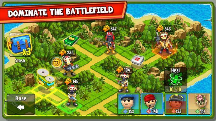 دانلود The Troopers 1.2.5 بازی استراتژی سربازان اندروید