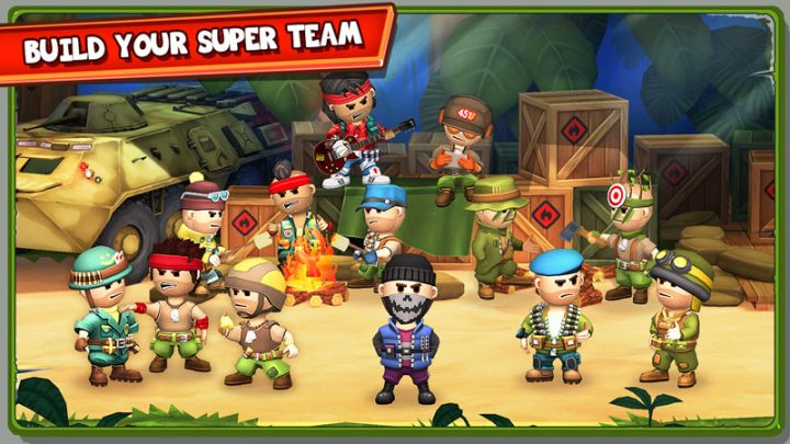 The Troopers 1.2.5 دانلود بازی استراتژی سربازان اندروید + دیتا