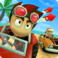 Beach Buggy Racing 1.2.22 دانلود بازی مسابقه ماشین های کوچک اندروید + مود
