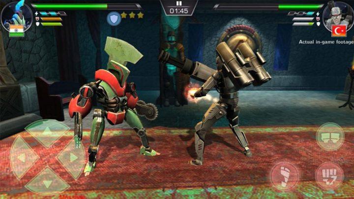 Clash Of Robots 3.3 دانلود بازی اکشن مبارزه ربات ها اندروید + مود