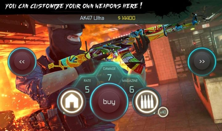Counter Terrorist 2 1.05 دانلود بازی کانتر تروریست 2 اندروید + مود