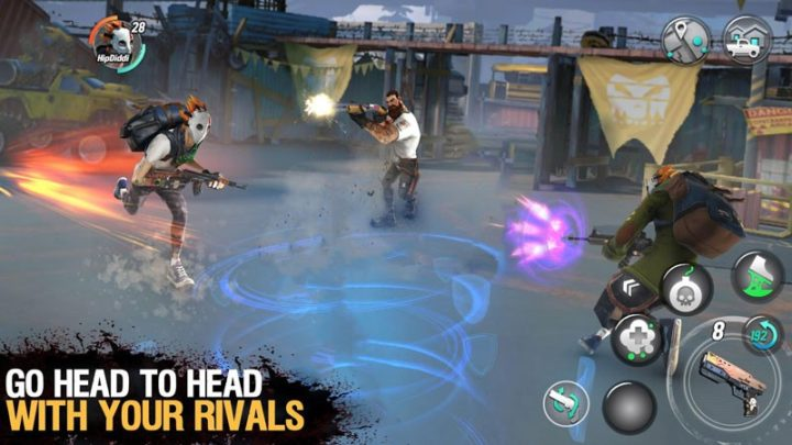 Dead Rivals – Zombie MMO 1.1.0e دانلود بازی اکشن رقبای مرگ اندروید