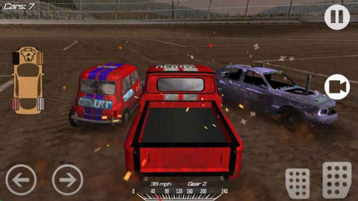 Demolition Derby 2 1.3.55 دانلود بازی رانندگی دربی تخریب 2 اندروید + مود