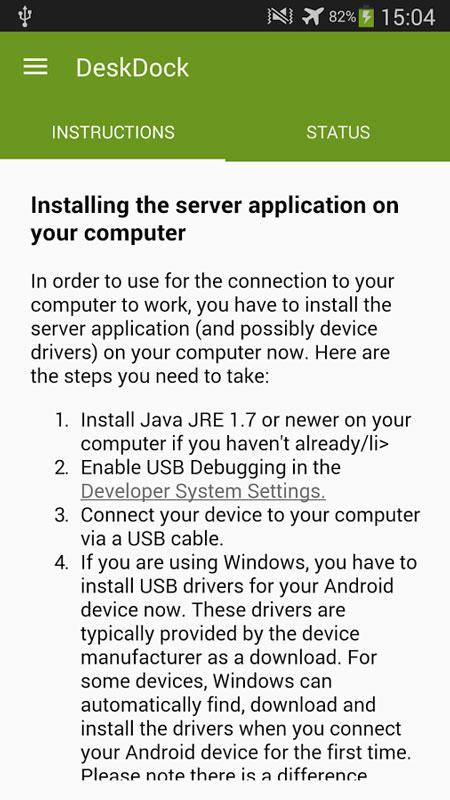 DeskDock PRO 1.1.8.2-pro اشتراک ماوس و کیبورد کامپیوتر با اندروید