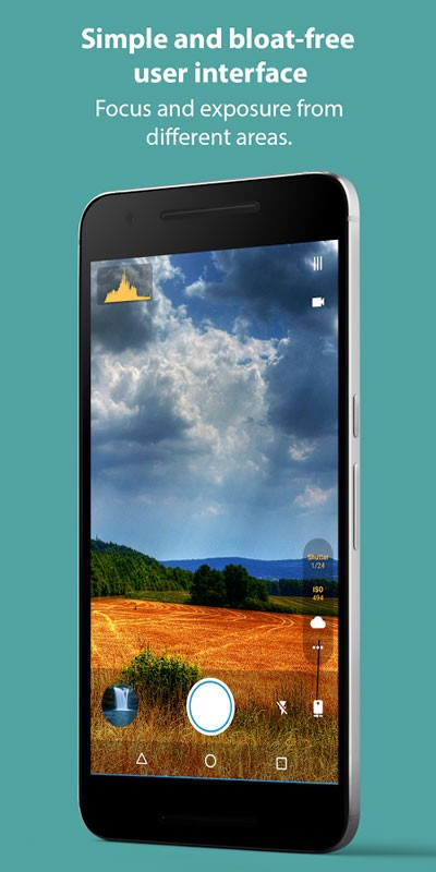 Footej Camera Premium 2.4.7 دانلود برنامه دوربین قدرتمند اندروید