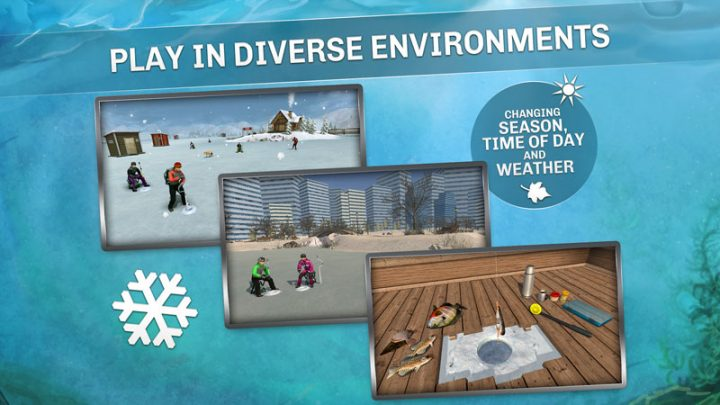 Ice Lakes 1724 دانلود بازی ماهیگیری دریاچه های یخی اندروید + مود